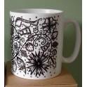 Blackwork Mug