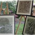 Framed Textiles (8)