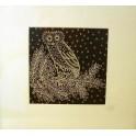Anceint Owl Print