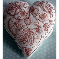 Make your own Embroidered Heart