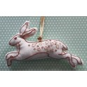 Make your own embroidered Hare