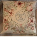 Forget Me Not Cushion