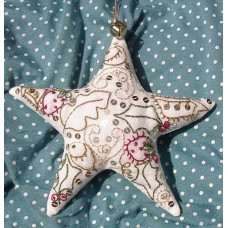 Embroidered Festive Star