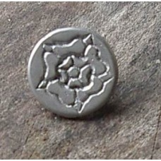 18mm Tudor Rose Button