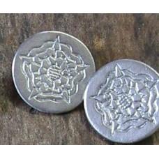 24mm Tudor Rose Button