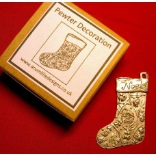 Pewter Stocking