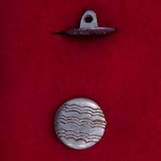 17mm Georgian Wave Button