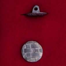 17mm Georgian Fat Weave Button