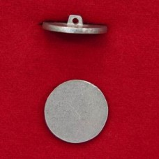 22mm Flat Button