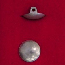 18mm Dome Pewter Button