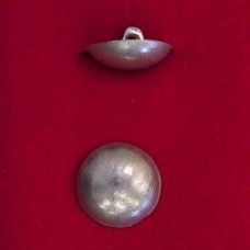 20mm Dome Pewter Button