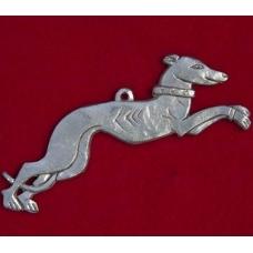 Pewter Greyhound Pendant