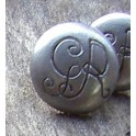 16mm GR Pewter Button