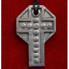 Jacobite Pewter Cross