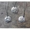 Daffidil, Rose & Thistle Pendants