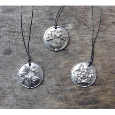 Daffidil, Rose & Thistle Pendants
