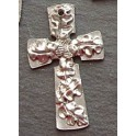 Pewter Oak & Acorn Cross