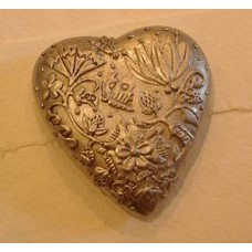 Pewter Heart Paperweight