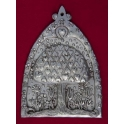 Pewter Tree of Hearts Wall Plaque