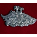 Pewter Sea Monster Pendant