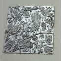 Pewter Spring Wall Plaque