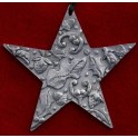 Pewter Star Decoration