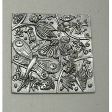Pewter Summer Wall Plaque