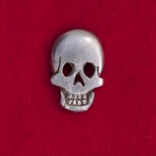 Large Skull Button