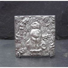 Pewter Cat Tile
