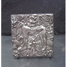 Pewter Dog Tile