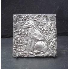 Pewter Fox Tile
