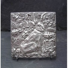 Pewter Hare Tile