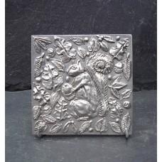 Pewter Squirrel Tile