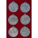 Xmas Pewter Pendants