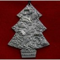 Pewter Tree Decoration