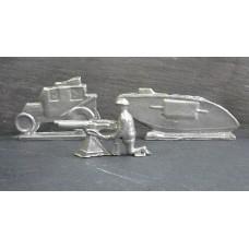 WW1 Desk Figurines