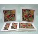 Pack of Five Autumn Cards
