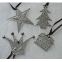 Christmas Pewter Decorations (19)