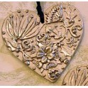 Pewter Festive Heart
